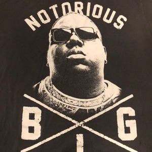 Brooklyn Mint Shirts - Vintage Notorious B.I.G. Brooklyn Mint T Men's L